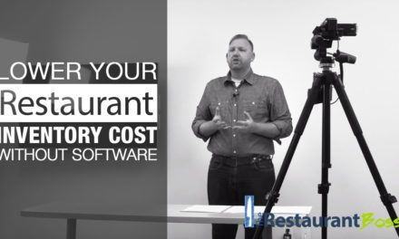 Lower your Restaurant Inventory Cost without Software