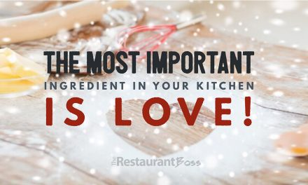 """""""The most important ingredient in your kitchen is LOVE!"""""""