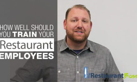 How Well Should you Train Restaurant Employees