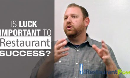 Is Luck Important to Restaurant Success