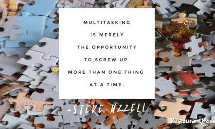 """""""Multitasking is merely the opportunity to screw up more than one thing at a time."""" – Steve Uzzell"""