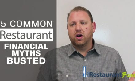5 Common Restaurant Financial Myths, BUSTED