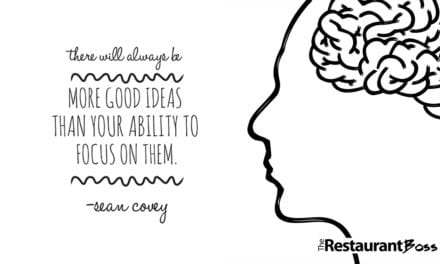 """There will always be more good ideas than your ability to focus on them."" – Sean Covey"