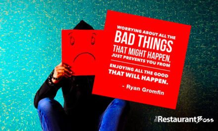 """""""Worrying about all the bad things that might happen, just prevents you from enjoying all the good that will happen."""" Ryan Gromfin"""