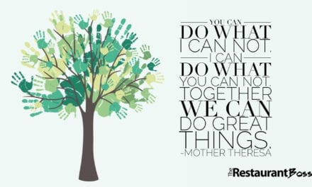 """""""You can do what I can not. I can do what you can not. Together we can do great things."""" – Mother Theresa"""