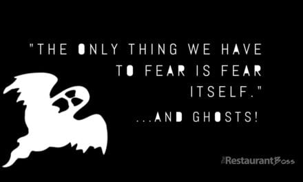 """""""The only thing we have to fear is fear itself."""" …and ghosts!"""