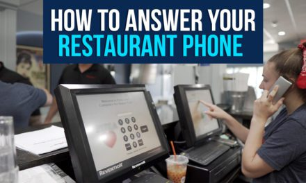How to Answer Your Restaurant Phone