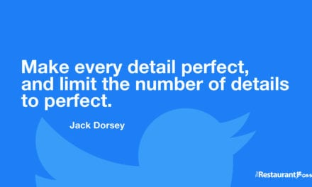 """""""Make every detail perfect, and limit the number of details to perfect."""" – Jack Dorsey"""