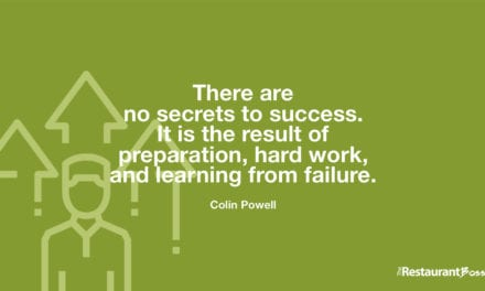 """There are no secrets to success. It is the result of preparation, hard work, and learning from failure."" – Colin Powell"