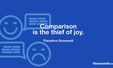 """""""Comparison is the thief of joy."""" – Theodore Roosevelt"""