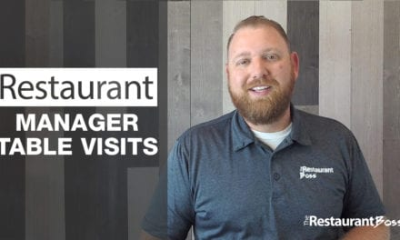 Restaurant Manager Table Visits