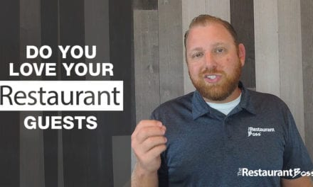 Do you Love your Restaurant Guests