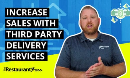 Increase Restaurant Sales with Third Party Delivery Services