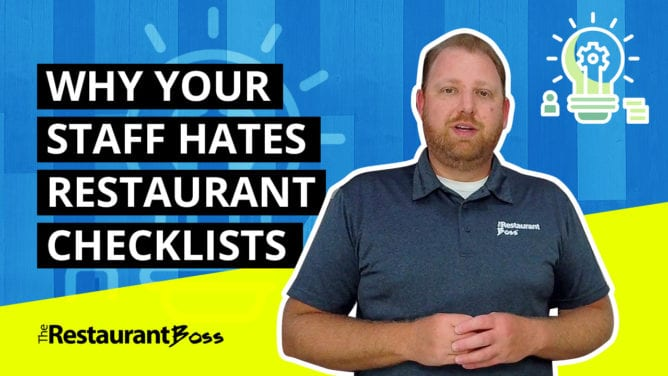 Why Your Staff Hates Restaurant Checklists