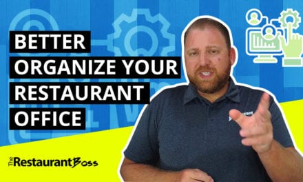 Better Organize Your Restaurant Office