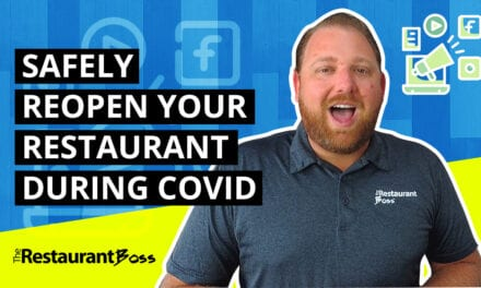 How to Safely Reopen Your Restaurant During COVID