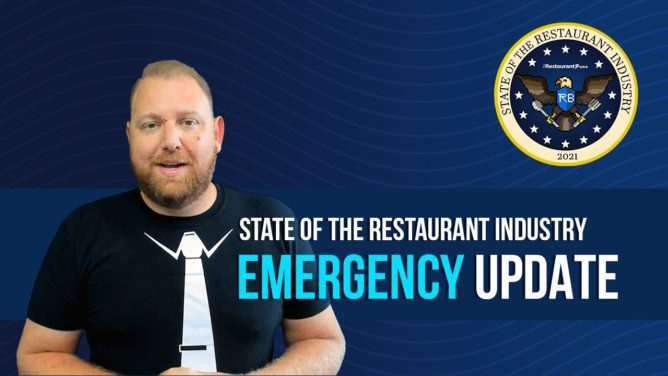 State of the Restaurant Industry: EMERGENCY UPDATE
