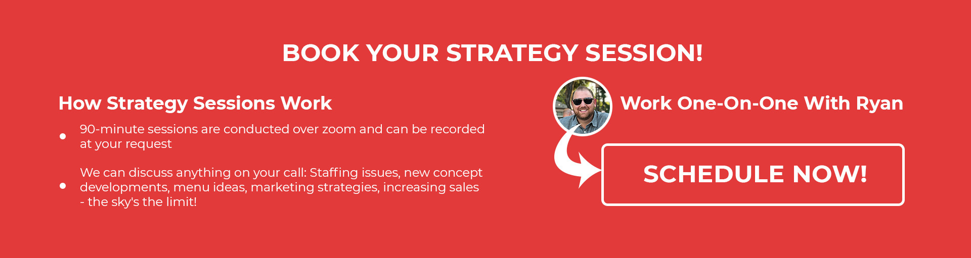 Book your strategy session with Ryan
